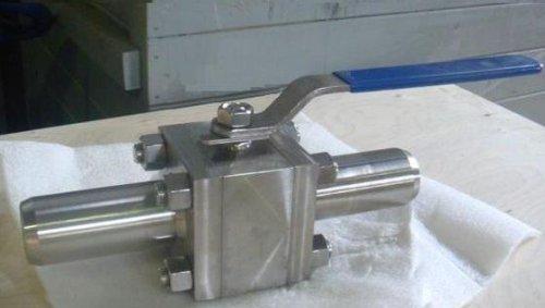 Краны шаровые нержавеющие под приварку Ру 160 кг/см3