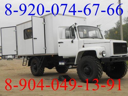 Грузопассажирский  фургон на  9 мест на  базе  ГАЗ 33081, ГАЗ 3309