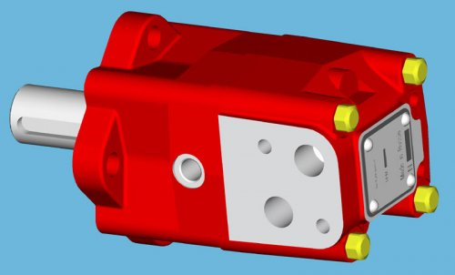 Гидромотор МГП 80, OMS-80