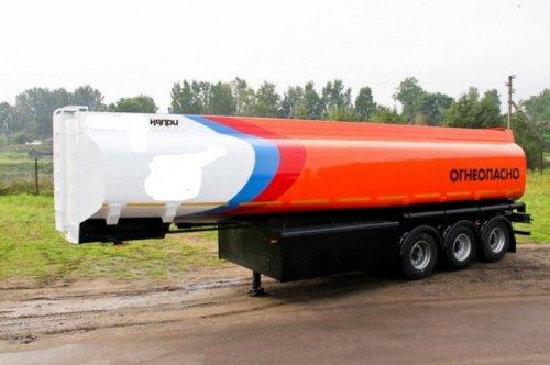 Бензовоз Капри ППЦ-30 алюминий