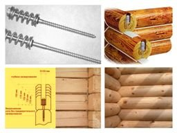 Компенсатор усадки - болт пружинный, узел (сила пружины -150 кгc)