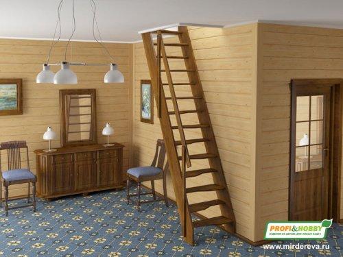 Готовые крашеные лестницыPROFI&HOBBY™