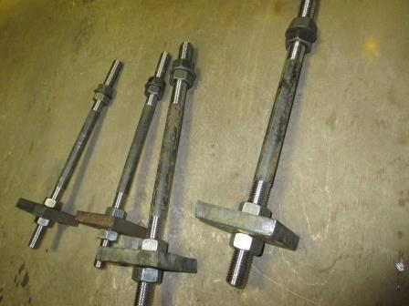 Болт фундаментный ГОСТ 24379.1-80 М36х900 (вес 12,390) тип 2, исполнение 1.