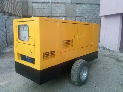 Дизель-генератор GESAN DPS-100 на шасси