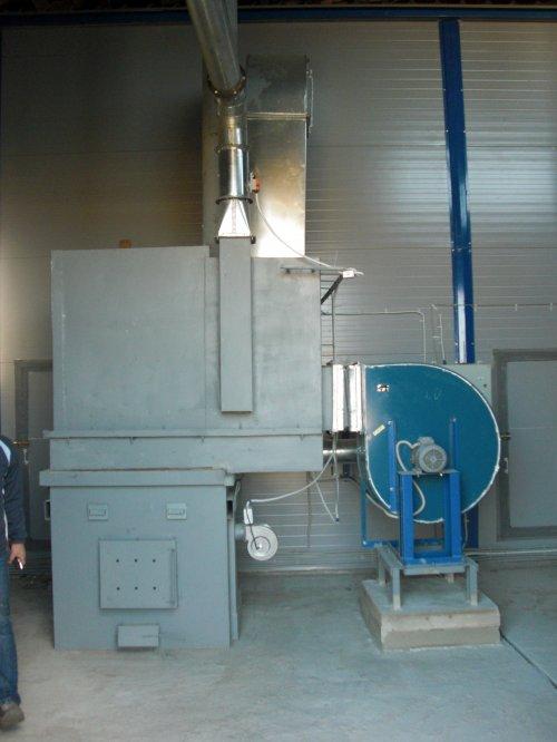 Теплоагрегаты для отопления производственных помещений