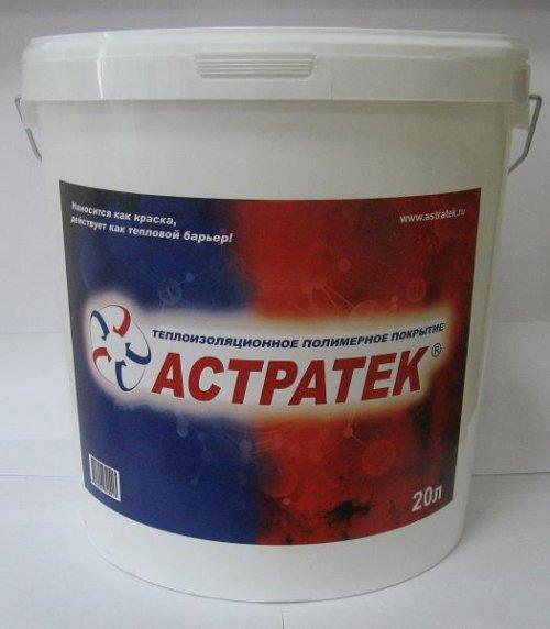 Теплоизоляционное полимерное покрытие АСТРАТЕК.