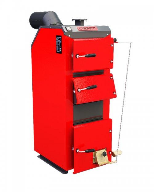 Классический твердотопливный котел DEFRO Optima Komfort 12 кВт