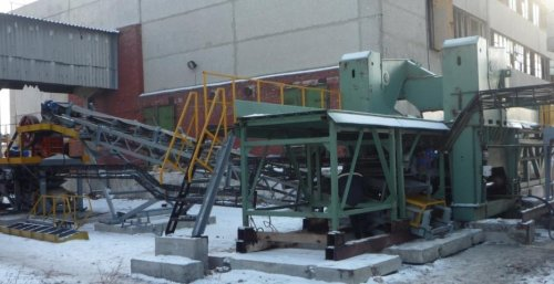 Дробильно-сортировочные комплекс ДСУ-90, ДСУ-200, ДСУ-300 для кубовидного щебня