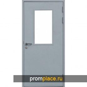 Противопожарные одностворчатые двери (Китай)