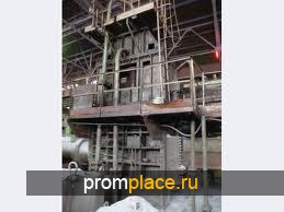 Пресс для пакетирования легковесных стальных отходов и лома Б1332