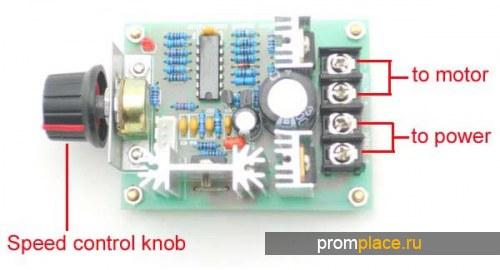 Мотор Шпиндель 0.4KW для ЧПУ