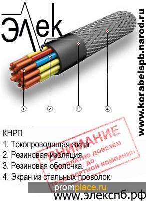 КНРП продажа судового кабеля