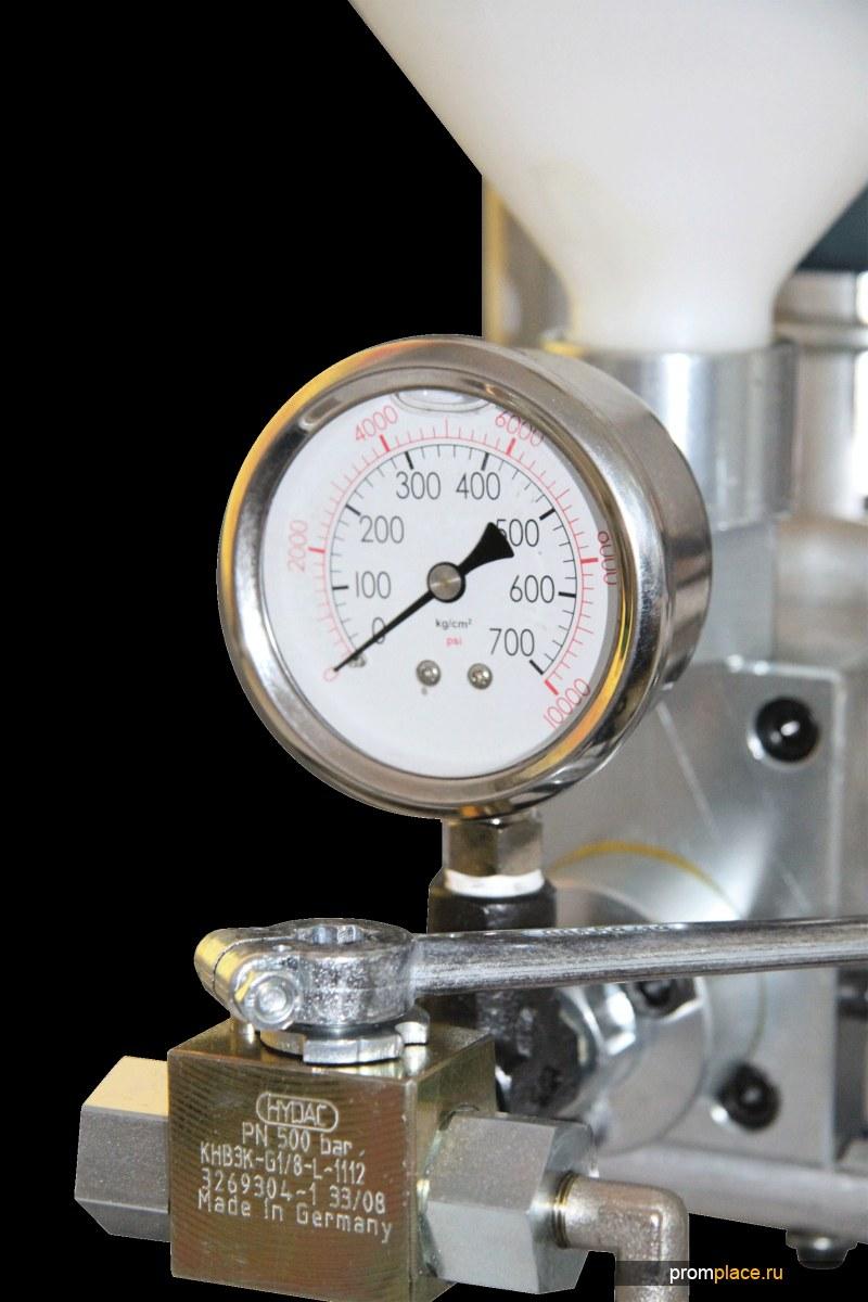 Электрический инъекционный поршневой насос БМ 0402