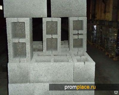 Блоки мелкоштучные из шлакобетона (40х20х20)