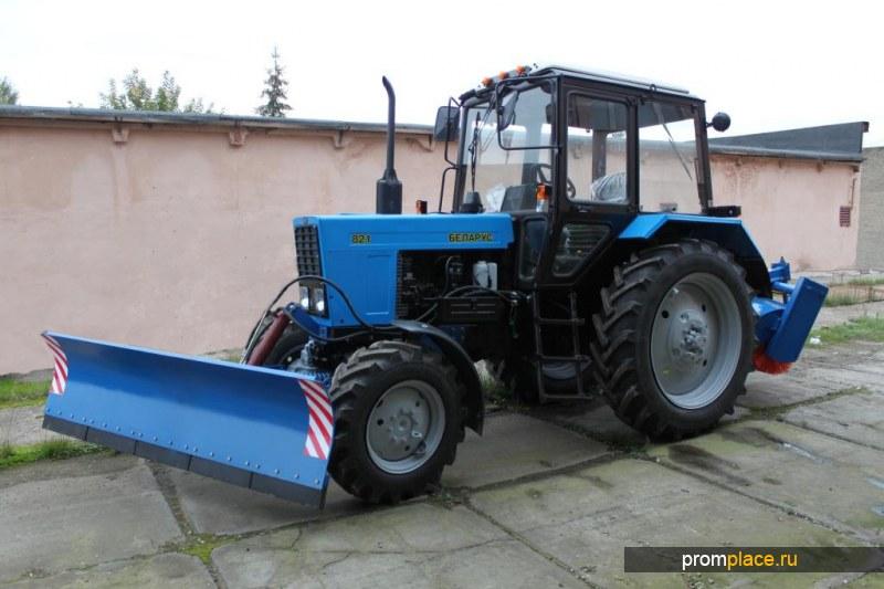 Коммунальная машина МУП-01 на базе трактора МТЗ 82.1