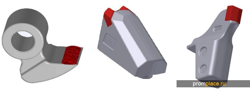 Запчасти и расходные материалы для навесного мульчера