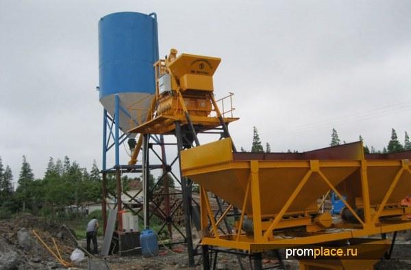 Бетонный завод  производительность 25м3 в час