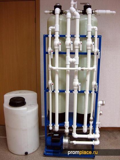 Установка сорбционной доочистки сточной воды