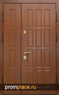 Тамбурные двери с отделкой МДФ + Ламинат