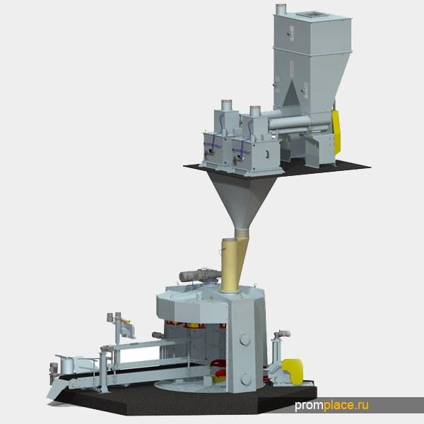 Карусельная весовыбойная установка дискретного действия, 2МС-25/50-МФ-К