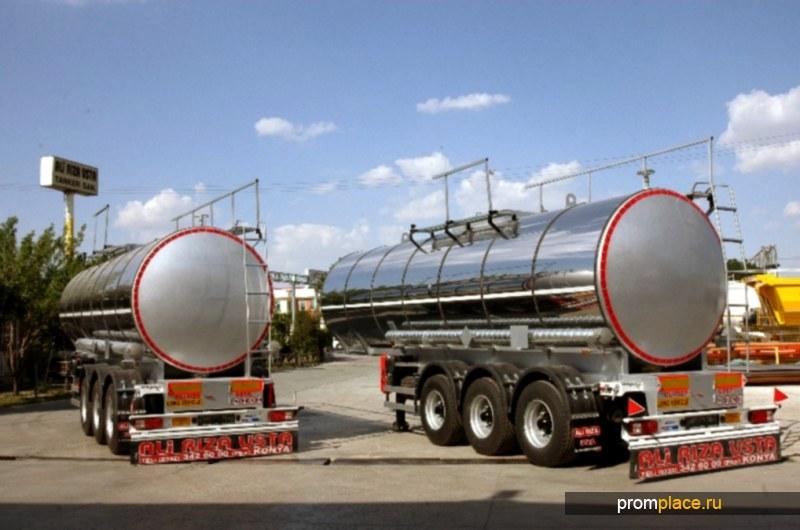 Пищевая полуприцеп-цистерна Ali Riza Usta 30 000 литров