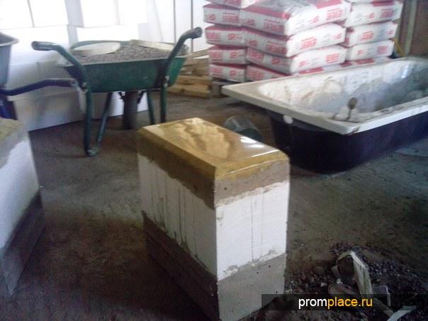 Мини-завод для производства мрамора из бетона 1