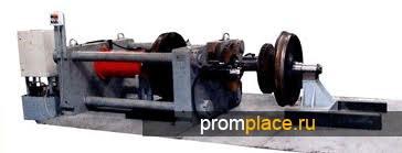 Пресс для сжатия,обжатия осадки ободьев колёс РЖД