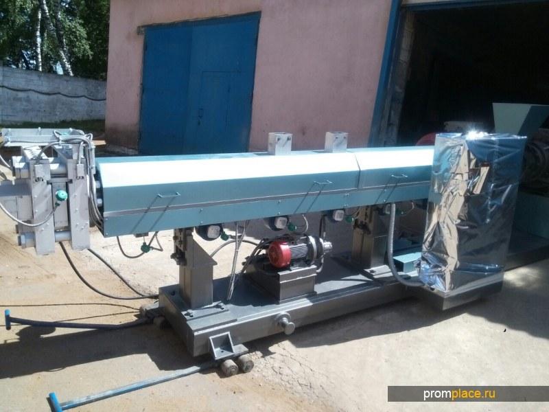 Экструдер 150 шнек с производительностью 600 кг/ч. В наличии, Поставка 2 дня. Отечественное производство