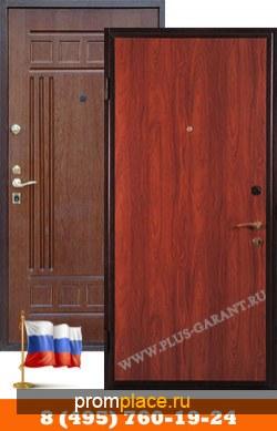 Металлические двери с отделкой Ламинат + МДФ