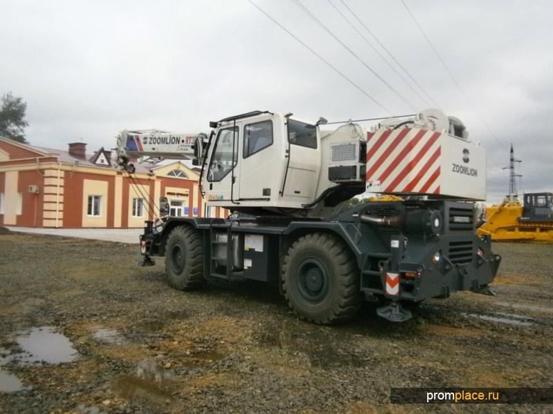 Внедорожный Автокран ZOOMLION RT35 пневмоколесный