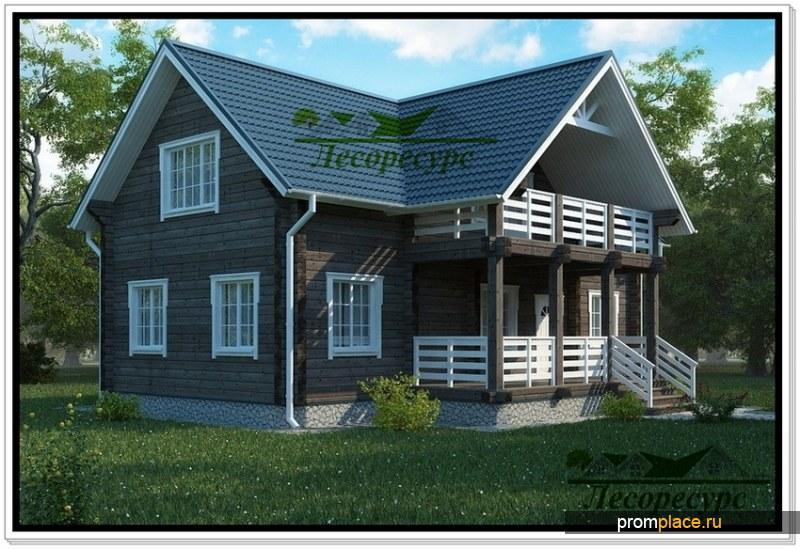 Дом из бруса -
