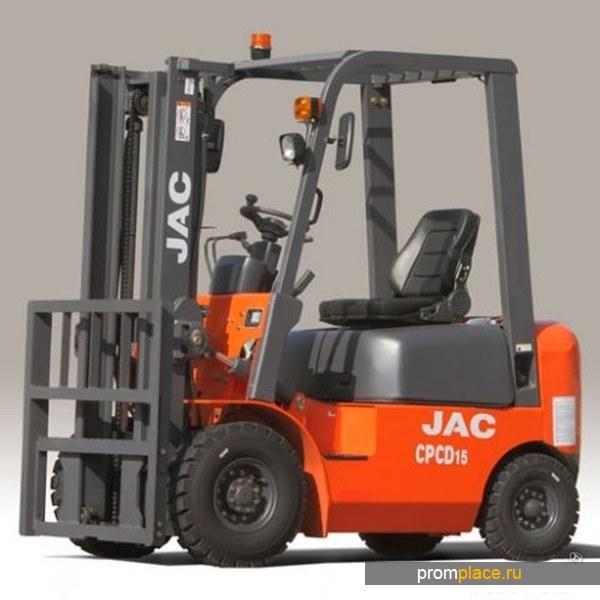 Автопогрузчик JAC cpcd 15