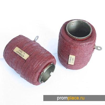 Катушки для реле и контакторов, катушки для пускателей, гибкие связи (косички) для контакторов