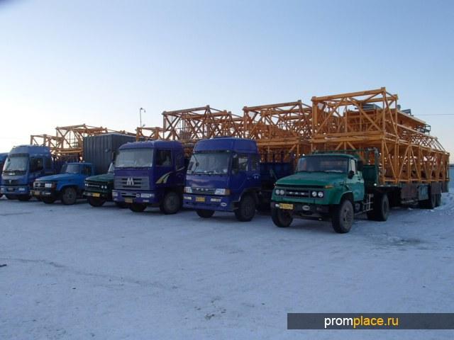 Башенный кран QTZ80 пр-во Харбин