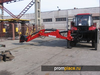 ЭО-2626-01 на базе трактора МТЗ-92П