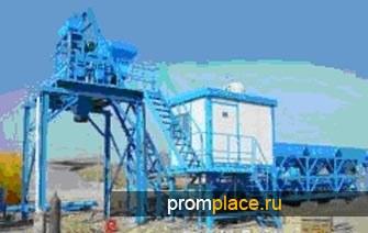 Поставим в короткие сроки бетонный завод HZS25 Китайского производства