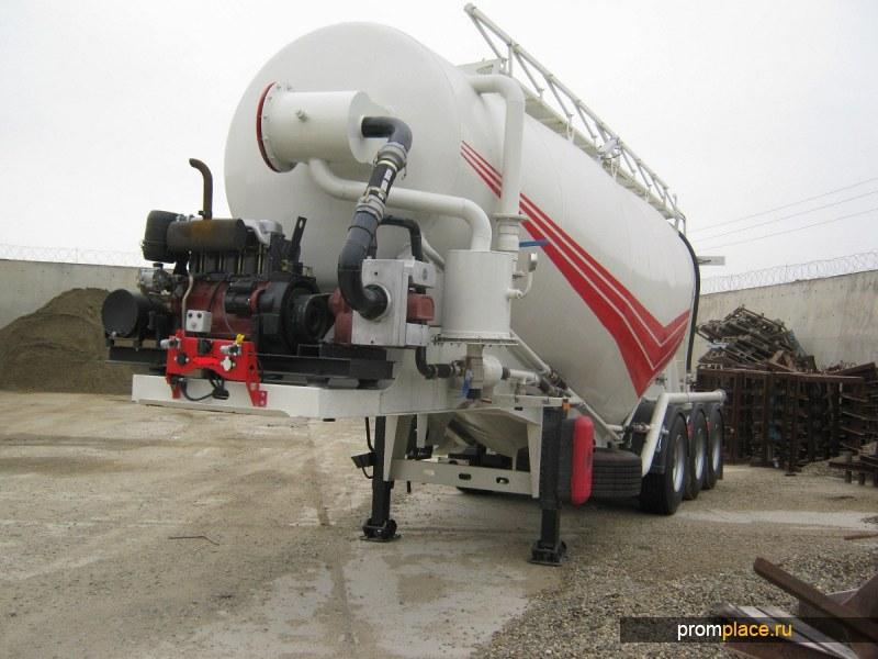 Цементовоз GURLESENYIL 35 м3 вакуумный
