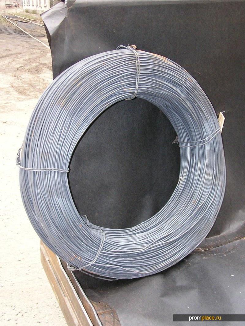Проволока вязальная стальная без покрытия ГОСТ 3282-74