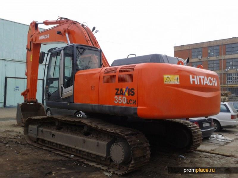 Гусеничный экскаватор HITACHI ZX 350 LCH-3. Год выпуска: 2007 г.