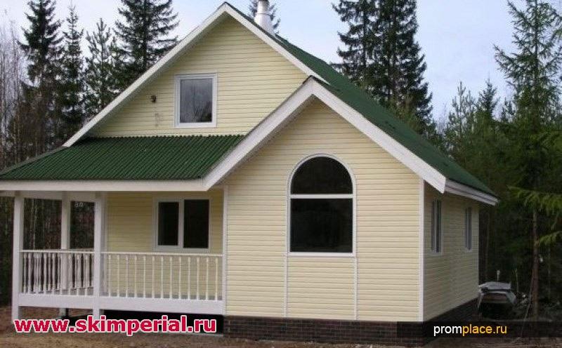 Деревянное строительство коттеджей и домов.