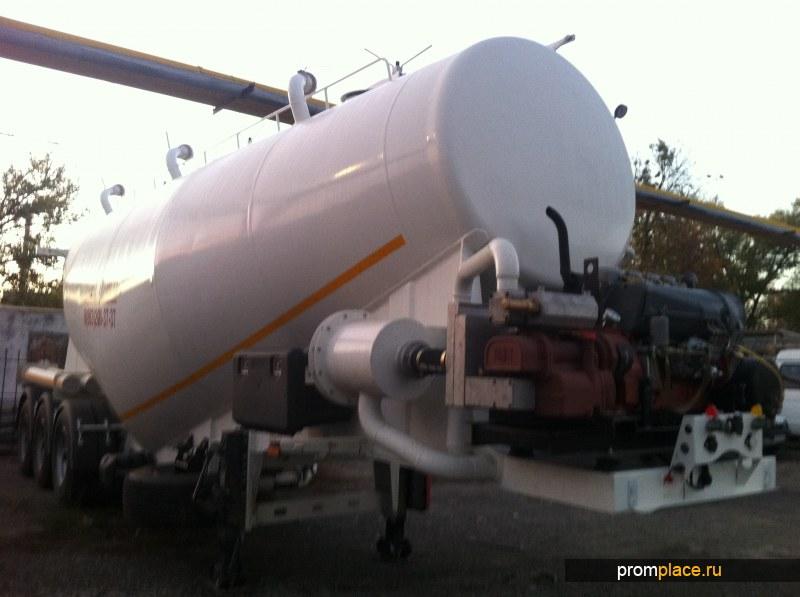 Цементовоз GURLESENYIL 34 м3 вакуумный