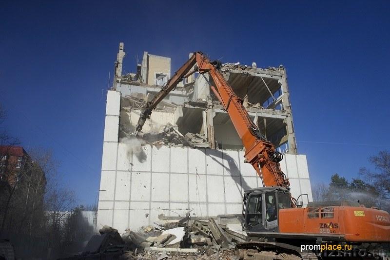 Демонтаж и снос домов в Казани