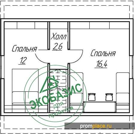 Каркасный дом КД-78 Ельня
