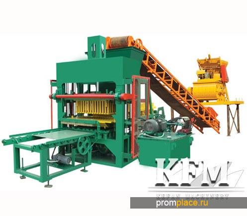 Оборудование по производству цветочных блоков серии QT5-20