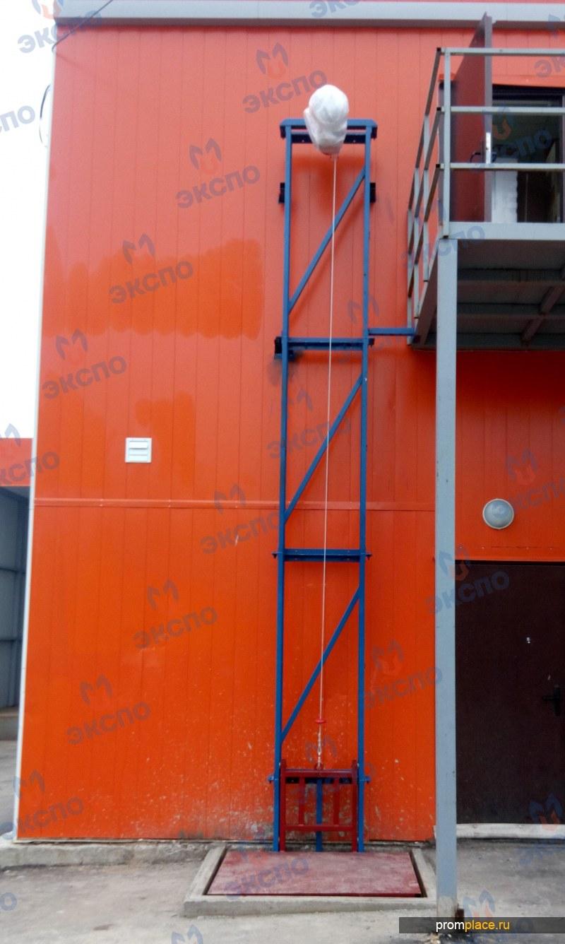 Консольные (мачтовые) грузовые подъемники