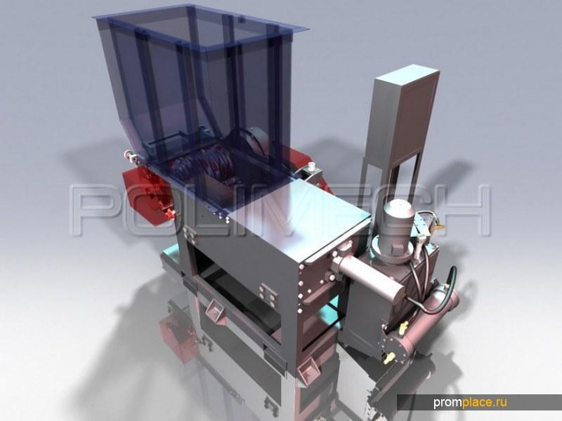 Продам шредер для крупногабаритных пластмасс