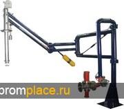 Устройство нижнего налива нефти в автоцистерны АСН-80-02, АСН-80-02.01