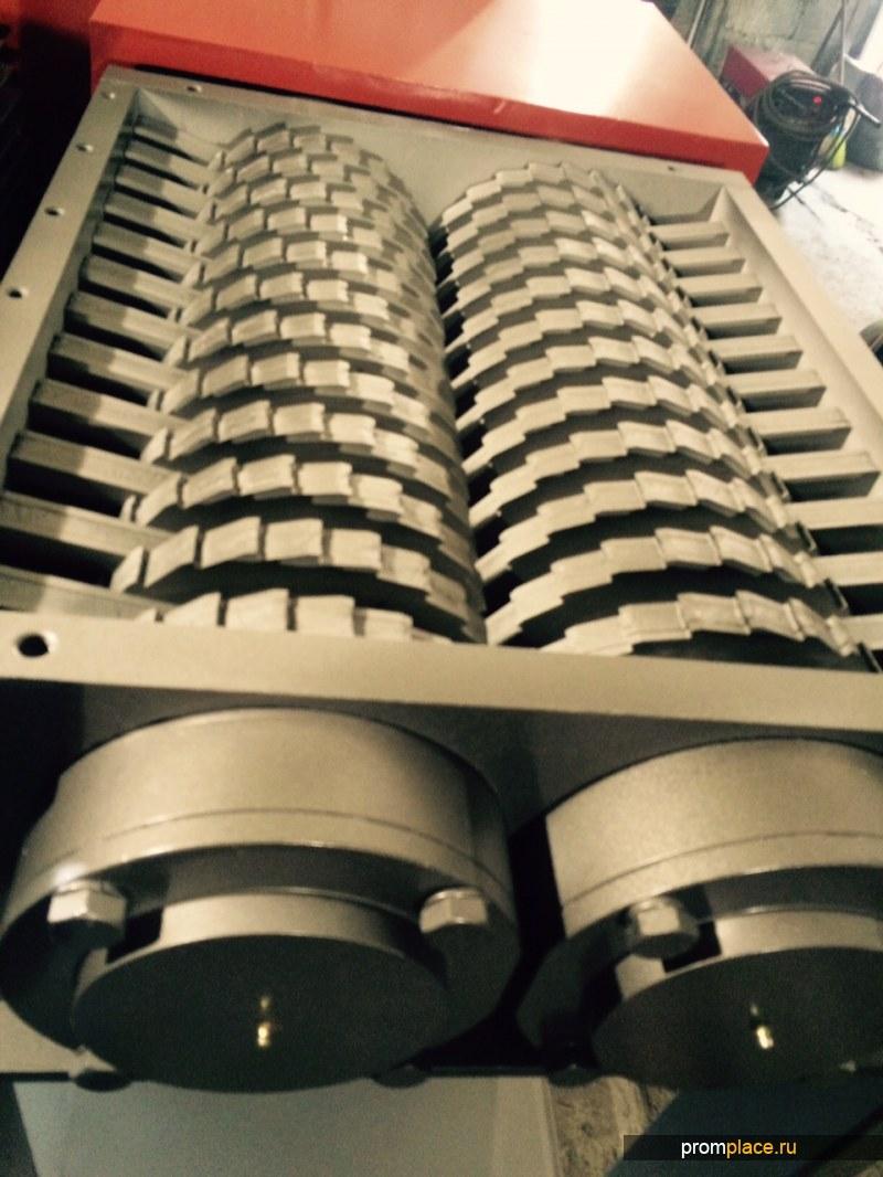 Двухроторные и четырехроторные шредеры для ТБО. Ножи из стали Hardox®. Годы работы без заточек!