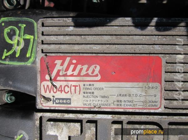 Двигатели Toyota/Hino W06Е, W06D, W04D, W04С, 1W, 3В, 4В, 11В и запчасти к ним в одном месте!