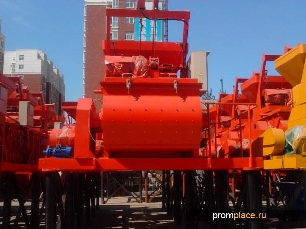 Бетонный смеситель-  Объем готового замеса, л.  500   Китай